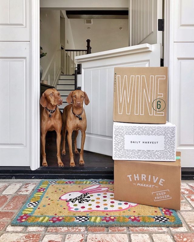 Food delivery during Coronavirus quarantine | My Style Diaries blogger Nikki Prendergast