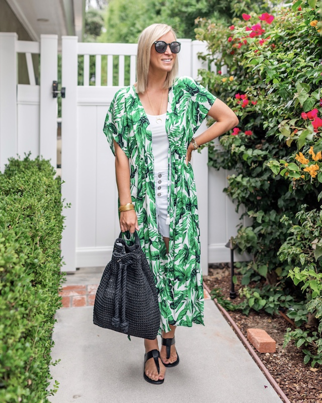 The Perfect Summer Caftan | My Style Diaries blogger Nikki Prendergast