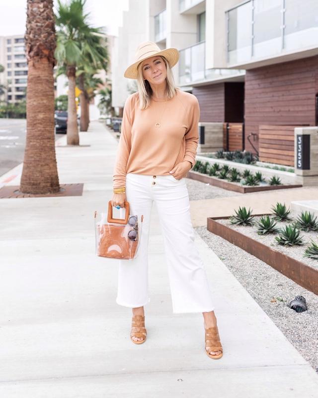 White denim for fall | My Style Diaries blogger Nikki Prendergast