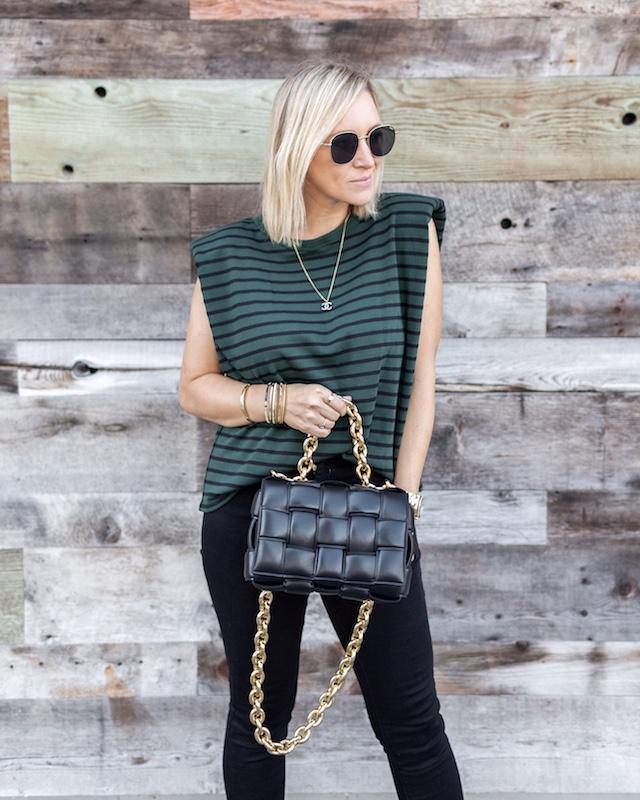 Bottega Veneta Chain Cassette handbag | My Style Diaries blogger Nikki Prendergast