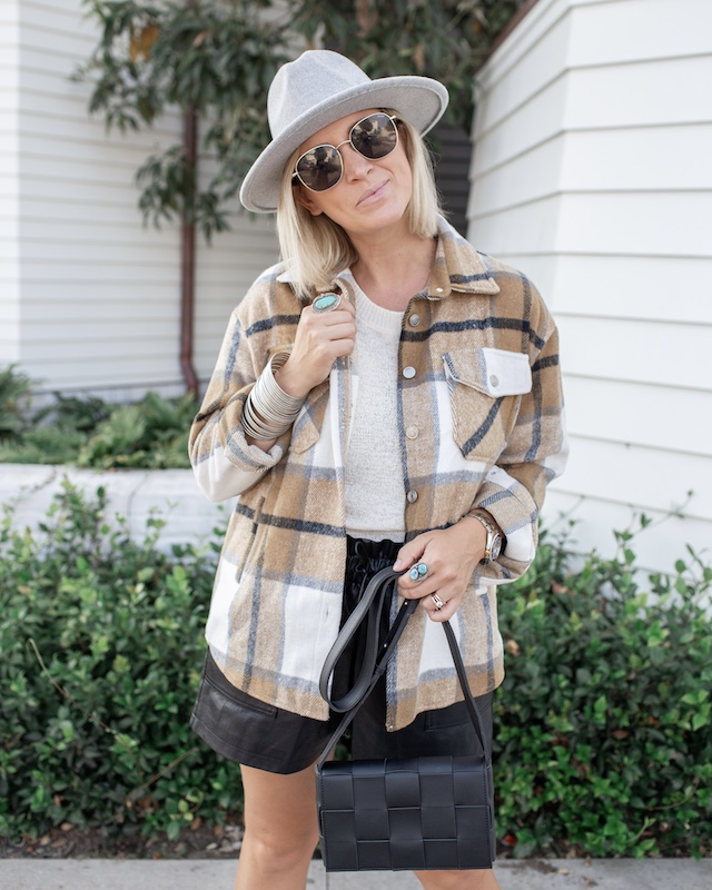 Fall Trend: shirt jackets and shackets | My Style Diaries blogger Nikki Prendergast