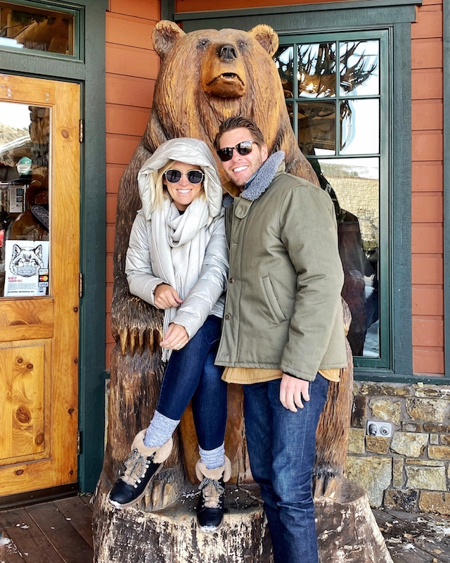 Winter visit to Jackson Hole, Wyoming | My Style Diaries blogger Nikki Prendergast