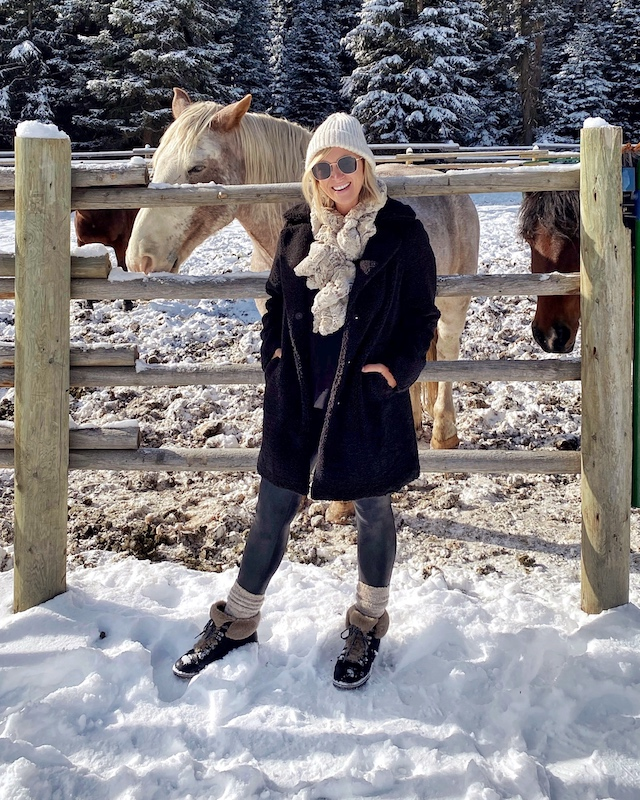 Winter visit to Lone Mountain Ranch in Big Sky, Montana | My Style Diaries blogger Nikki Prendergast