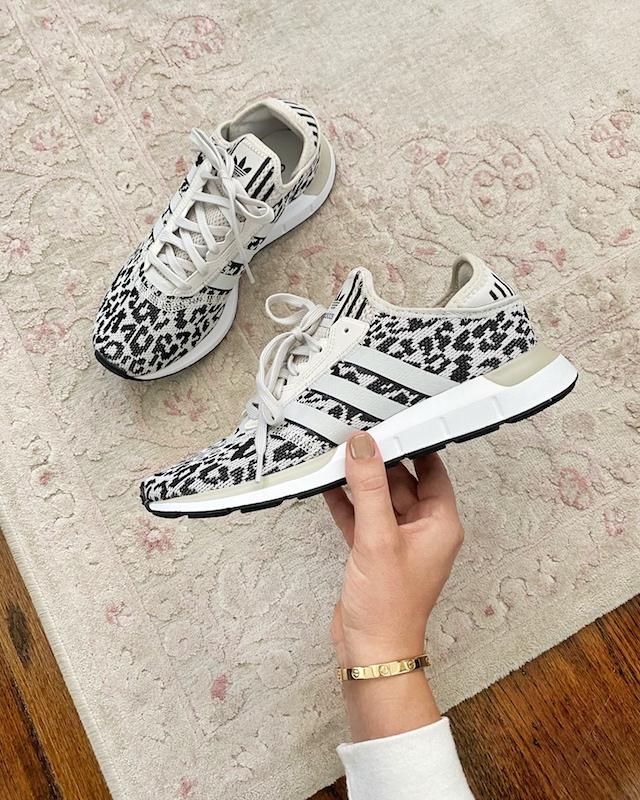 Leopard Adidas sneakers | My Style Diaries blogger Nikki Prendergast