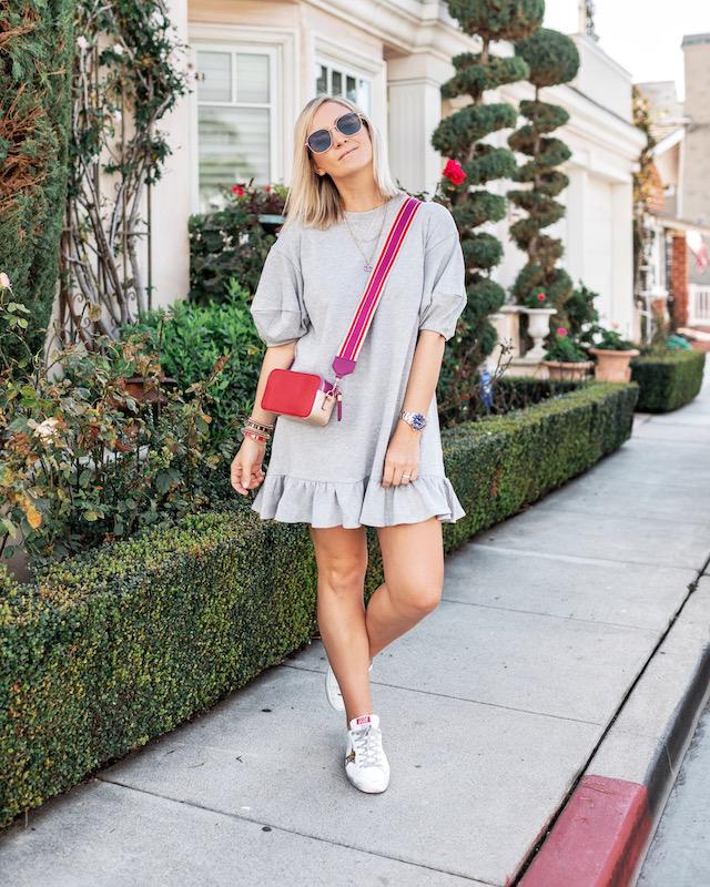 Scoop sweatshirt dress for spring | My Style Diaries blogger Nikki Prendergast