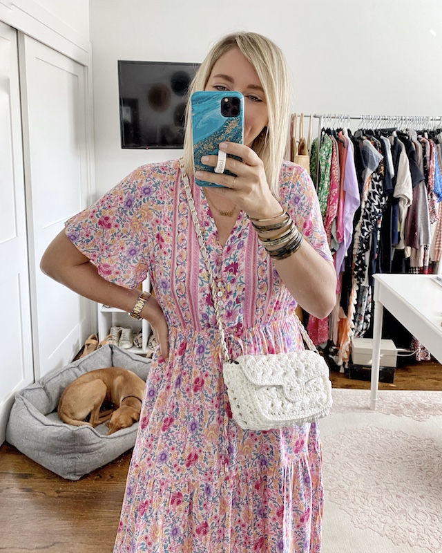 Easy and comfortable Amazon maxi dress | My Style Diaries blogger Nikki Prendergast