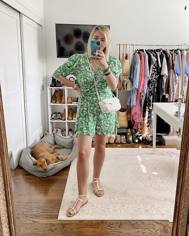 Budget-friendly spring romper | My Style Diaries blogger Nikki Prendergast