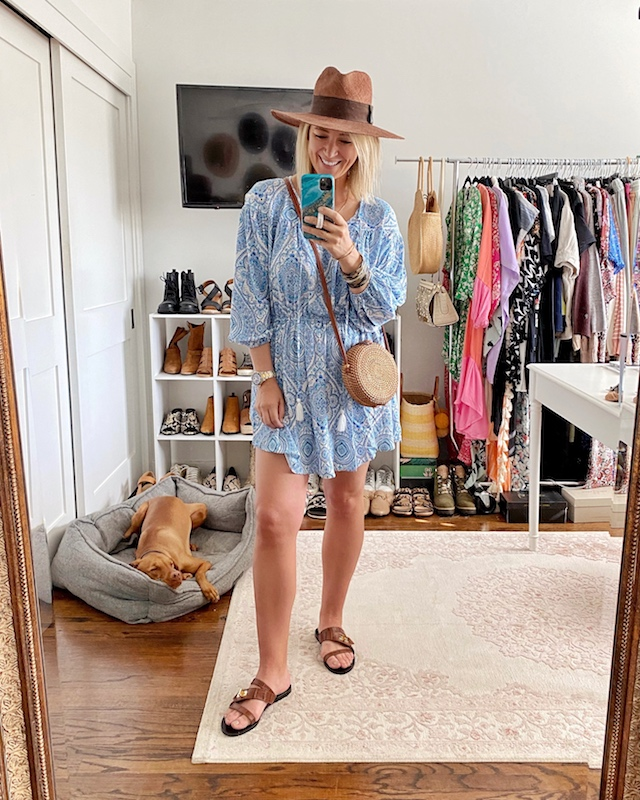 Budget-friendly spring mini dress from Scoop | My Style Diaries blogger Nikki Prendergast