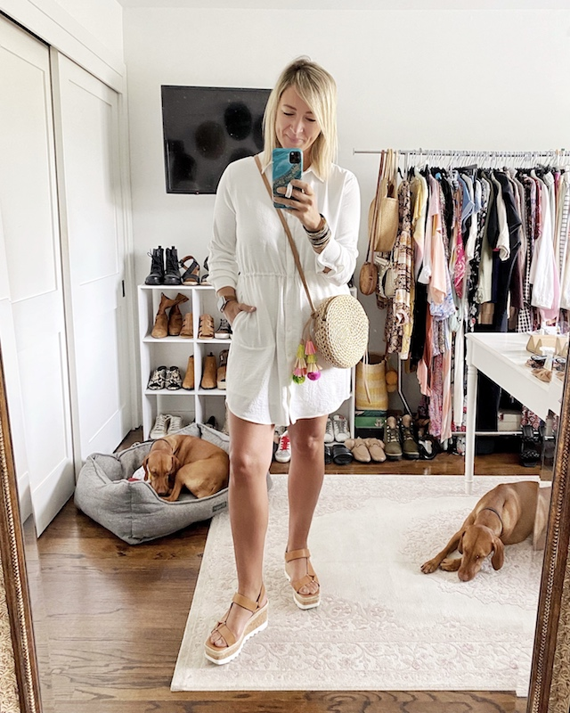 Gibson Look X Haute Off the Rack shirtdress | My Style Diaries blogger Nikki Prendergast