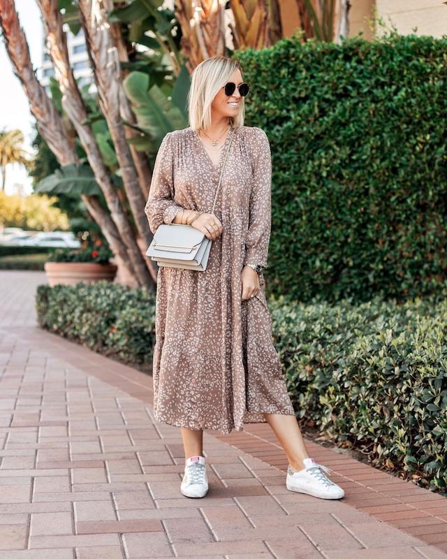 Target midi dress for spring | My Style Diaries blogger Nikki Prendergast