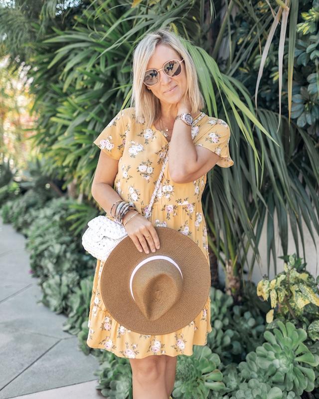 Floral dress under $15 | My Style Diaries blogger Nikki Prendergast