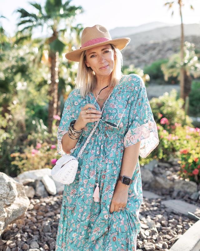 World Market midi dress in Palm Springs | My Style Diaries blogger Nikki Prendergast