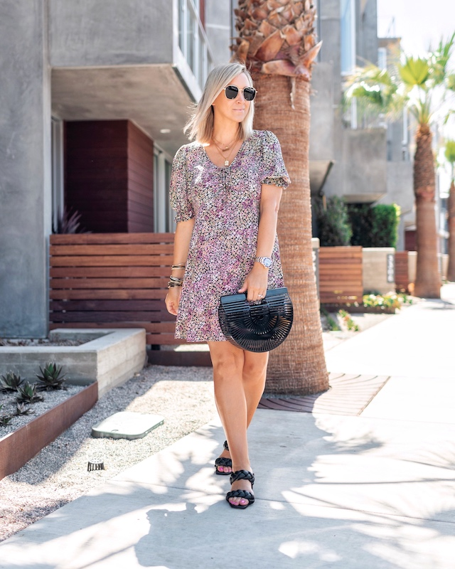 Easy floral Target mini dress | My Style Diaries blogger Nikki Prendergast