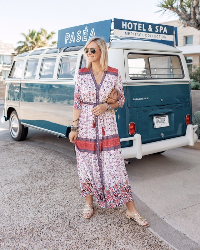 Amazon maxi dress and studded sandals | My Style Diaries blogger Nikki Prendergast