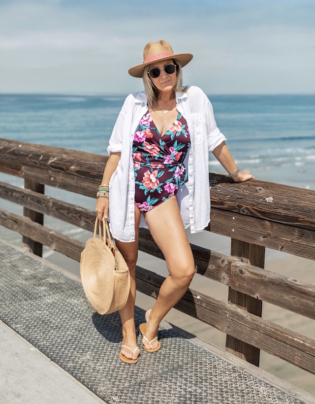 Embrace Your Curves Swimwear available at Walmart | My Style Diaries blogger Nikki Prendergast