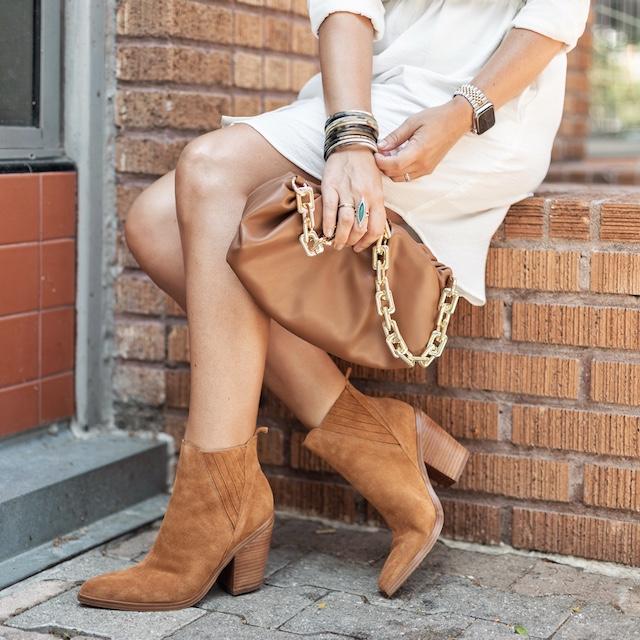 Marc Fisher booties in Nordstrom Anniversary Sale | My Style Diaries blogger Nikki Prendergast