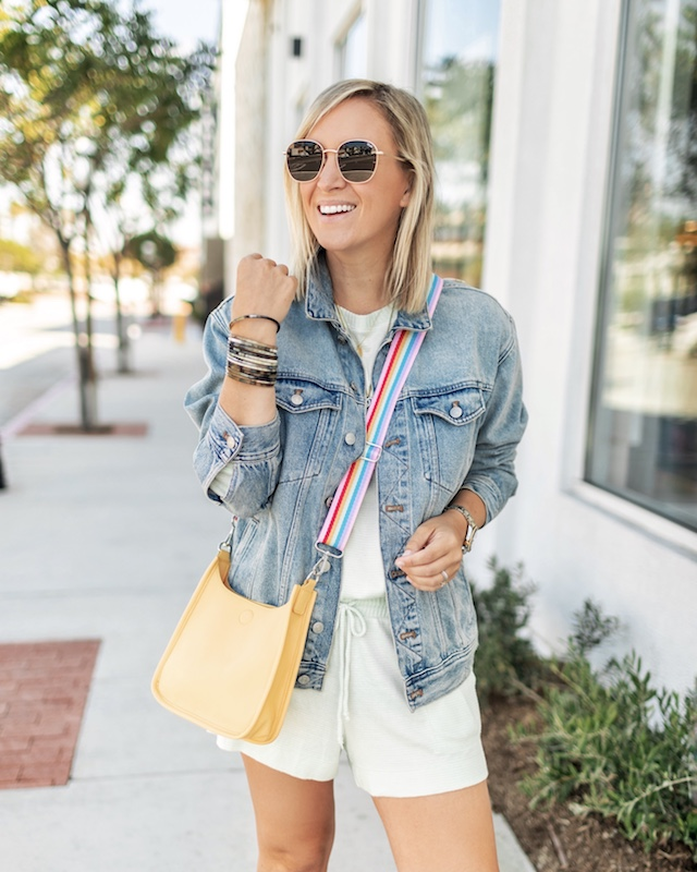 Madewell denim jacket in the Nordstrom Anniversary sale | My Style Diaries blogger Nikki Prendergast
