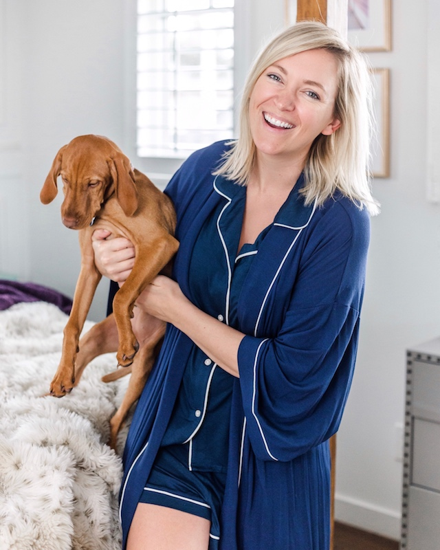 Nordstrom PJ's on sale in Nordstrom Anniversary sale | My Style Diaries blogger Nikki Prendergast