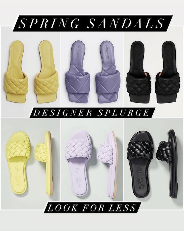 Designer slides look for less | My Style Diaries blogger Nikki Prendergast