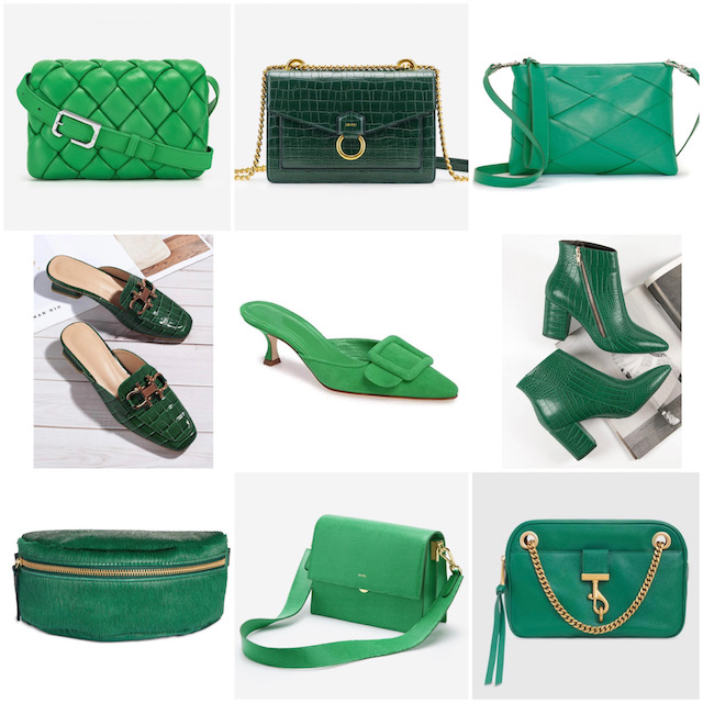 Green accessories for fall | My Style Diaries blogger Nikki Prendergast